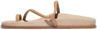 Emme Parsons Bari Sandal in Tan Suede