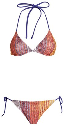 Missoni Two-Tone Triangle Bikini