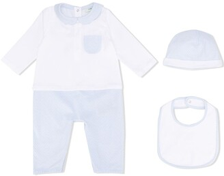 Fendi Kids FF motif romper set