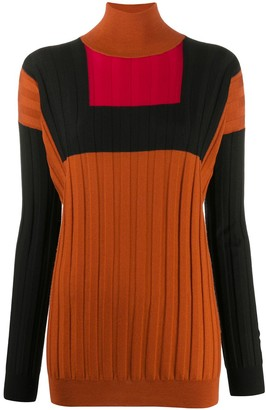 Plan C Geometric Merino Wool Jumper