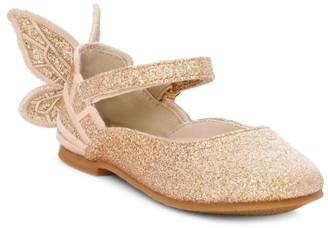 Sophia Webster Baby's & Little Girl's Chiara Metallic Ballet Slippers