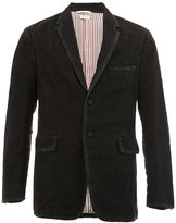 Thom Browne classic two-button jacket - men - Silk/Cotton/Cupro - 0