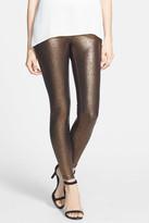 Hue Metallic Gravel Pattern Leggings