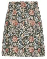Miu Miu Printed jacquard skirt