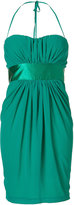 Blumarine Emerald Strapless Dress