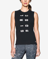 Under Armour Charged Cotton® Girl Boss Tank Top
