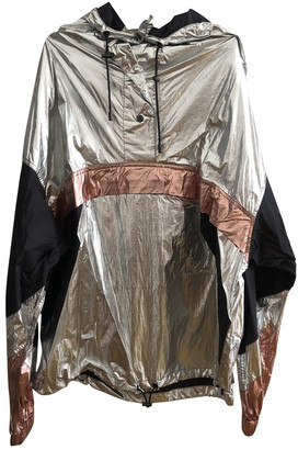 Etoile Isabel Marant Silver Synthetic Leather jackets