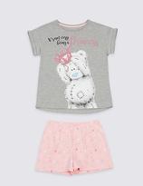 Tatty Teddy Printed Short Pyjamas (2-16 Years)
