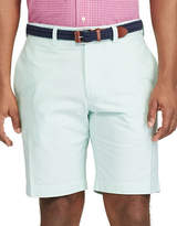 Chaps Big and Tall Flat-Front Cotton Oxford Shorts