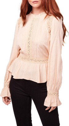 B.O.G. Collective Shirley Floral Lace Blouse