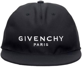 Givenchy Cap Flat Peak Hats In Black Cotton