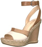Nine West Women's Fender Patent Wedge Sandal