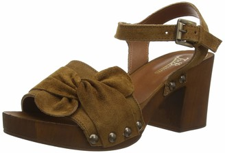 Joe Browns Women's Roman Holiday Suede Shoes Wedge Sandal