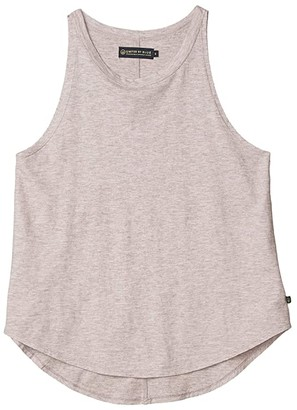United By Blue High Neck Tank (Dusty Rose) Women's Clothing