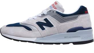 New Balance Mens 997 Made In USA Trainers Grey/Navy