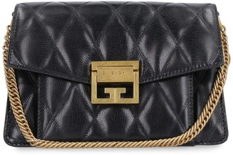 Givenchy Gv3 Small Quilted Leather Shoulder Bag