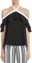 Alice + Olivia Alyssa Off-The-Shoulder Halter Top - 100% Exclusive