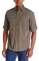 Wrangler Authentics Mens Long Sleeve Utility Shirt