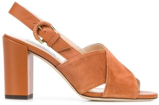 Tod's block heel sandals