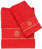 Roberto Cavalli Set Of 2 Cotton Towels