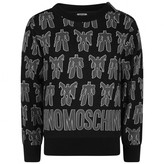Moschino MoschinoBoys Black Transformers Print Sweater