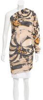 Emilio Pucci One-Shouldered Silk Top