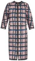 Erdem Mae perforated-neoprene coat