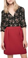 Gerard Darel Armour Skirt, Red
