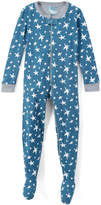 Intimo Goodnight Blue Glow-in-the-Dark Stars Footie - Infant & Toddler