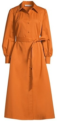 Tory Burch Artist Tie Shirtdress