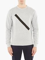 Saturdays Surf NYC Grey Cotton Bowery Sweatshirt