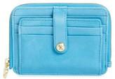 Hobo Women's 'Katya' Leather Wallet - Blue