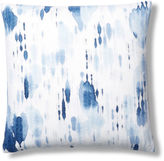 Dransfield and Ross Reverse Phyllo 24x24 Pillow, Indigo