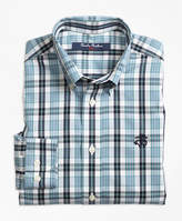 Brooks Brothers Non-Iron Small Plaid Sport Shirt