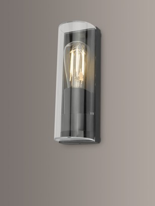 Dar Quenby Outdoor Wall Light, Anthracite