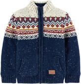 Pepe Jeans Fleece-lined knit cardigan