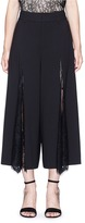 Alice + Olivia 'Onell' lace inset gauchos