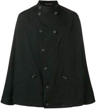 Yohji Yamamoto Double-Breasted Military Jacket