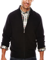 Dockers Full-Zip Soft Acrylic Sweater