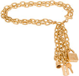 Moschino charm chain belt - women - metal - One Size