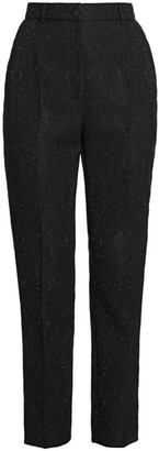 Dolce & Gabbana Straight-Leg Brocade Pants