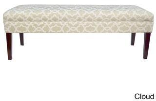 Mjl Furniture Designs MJL Furniture Kaya Sheffield 10 Button Tufted Upholstered Long Bench