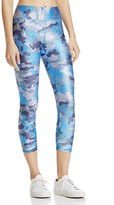 Terez Denim Camo Capri Leggings