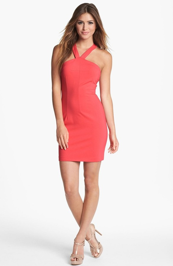 Erin Fetherston Erin by Ponte Knit Halter Dress