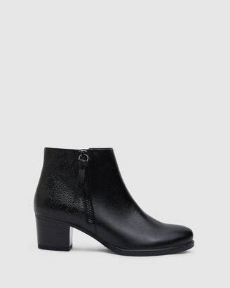 Easy Steps - Women's Black Ankle Boots - Cafe - Size One Size, 8 at The Iconic