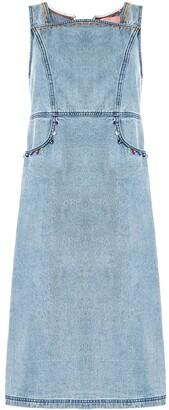 Bapy By *A Bathing Ape® Sleeveless Embellished Denim Dress