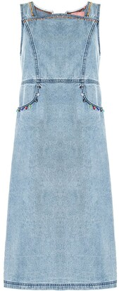BAPY BY *A BATHING APE® Sleeveless Embellished Denim Dress