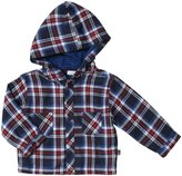 Jo-Jo JoJo Maman Bebe Hooded Shirt (Baby) - Navy Check-18-24 Months