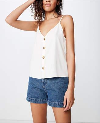 Cotton On Allie Button Front Cami