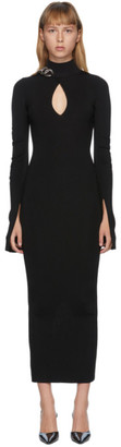 Alexander Wang Black Chain Trim Dress